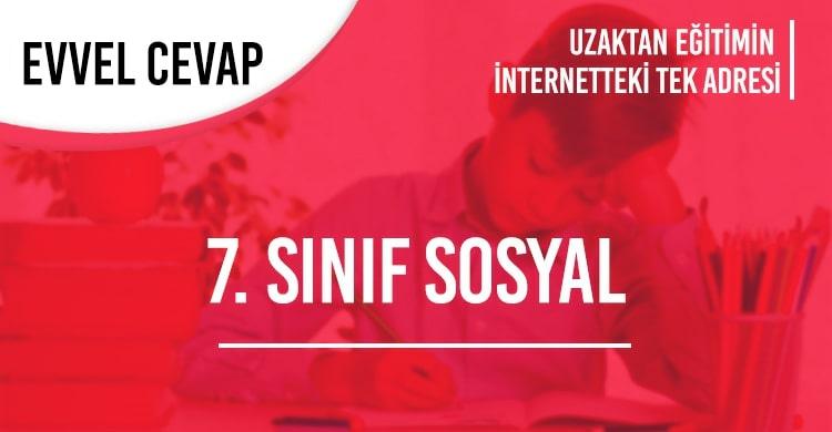 7. Sınıf Sosyal Bilgiler Test Çöz